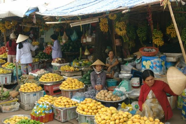 рынок  на остров Фуко-уко