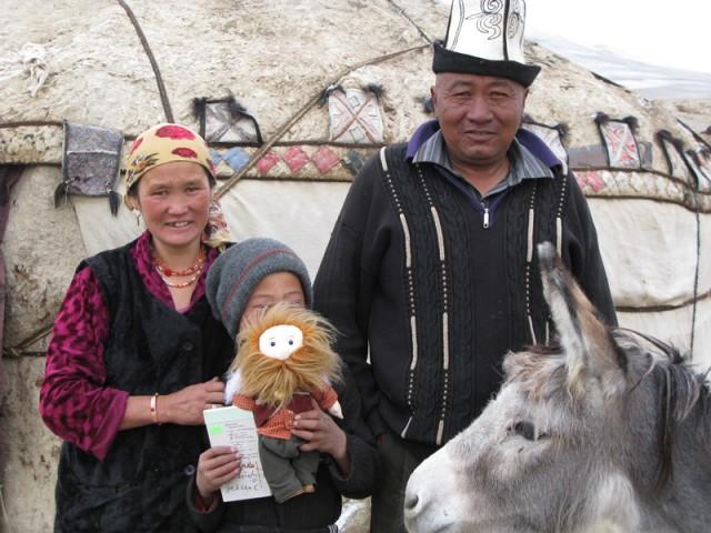 Семейное фото кочевников