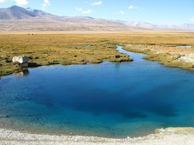 Озеро Ак Балык, Памир