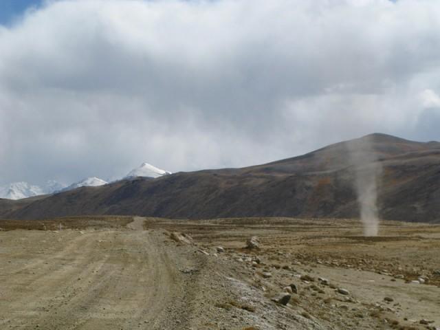 Памир на юг от Памирского шоссе