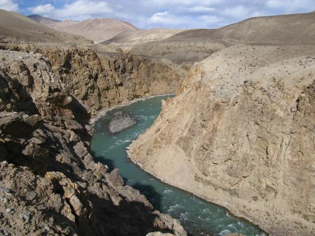 Каньон на реке Памир