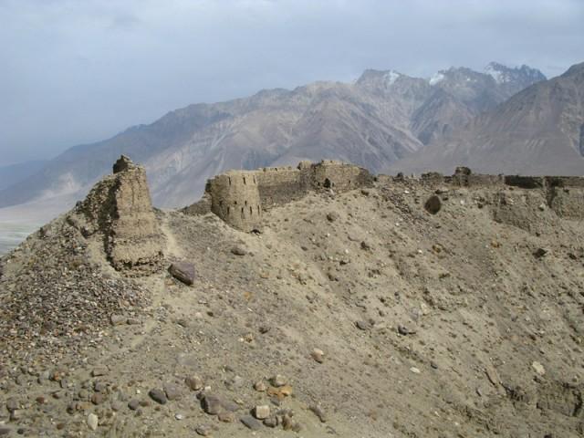 Крепость на Памире