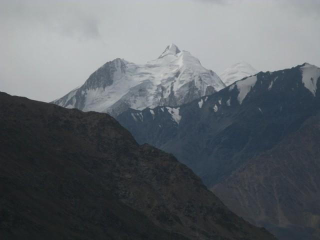 Вид из крепости на горы