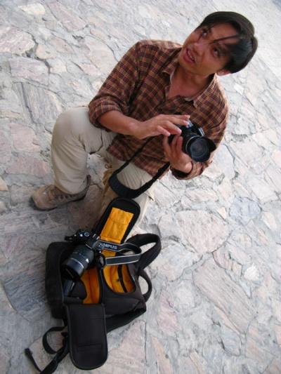 Ким, фотограф из Сингапура...