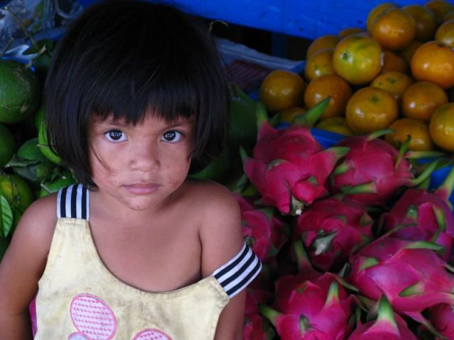 Камбоджийская девочка