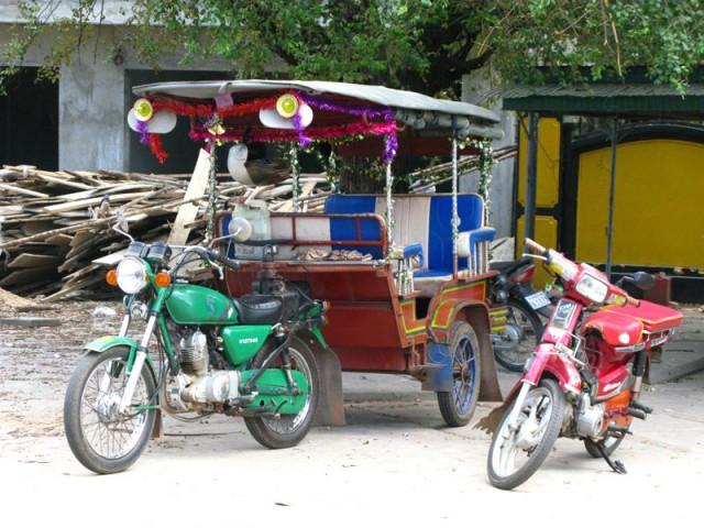 Тук-тук по-камбоджийски
