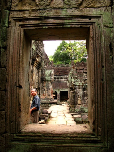Пространство храма Preah Khan