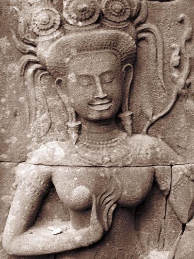 Замечтавшаяся апсара. Храм Chau Say Thevoda