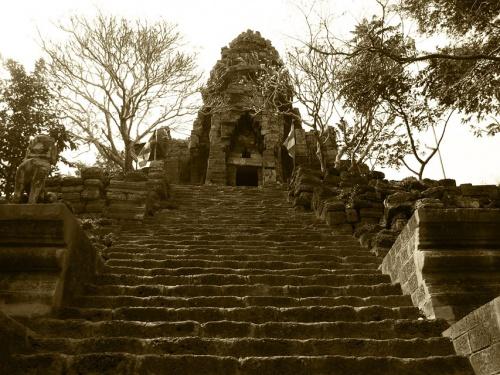Ват Банан, окрестности Батамбанга, Камбоджа