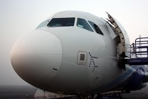Наш самолет компании Indigo Air