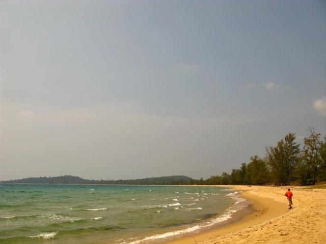 Пляж Bai Cua Can