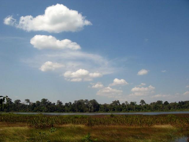 Озеро в зачарованном лесу