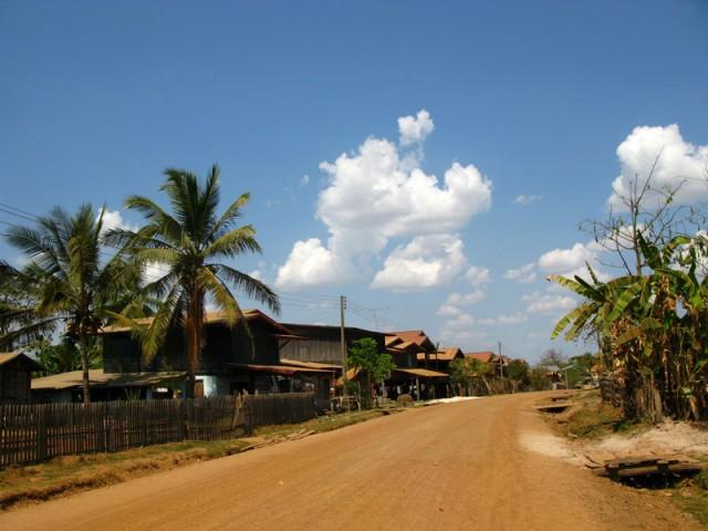 Деревня. Центральный Лаос