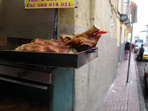 прастая еда, простого эквадорца