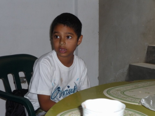 мой первый перуанский поклонник