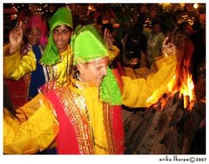 танец Бхангра