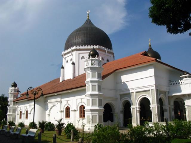 Мечеть Капитан Келинг в Джорджтауне, Пенанг, Малайзия