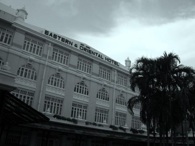 Знаменитый Eastern & Oriental Hotel, открытый армянами
