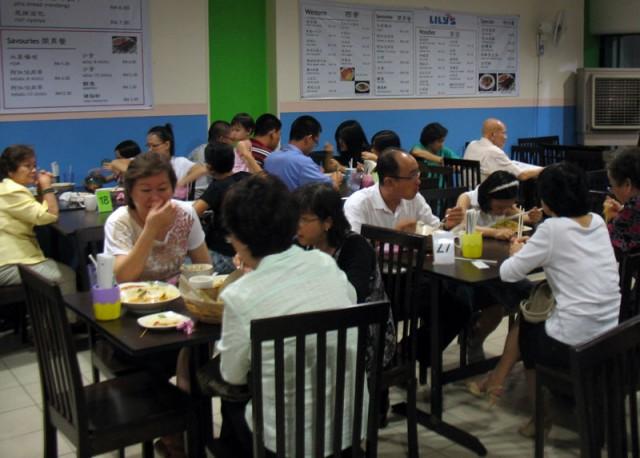Вегетарианский ресторан Lily's Vegetarian Kitchen на пятнадцатый день луны