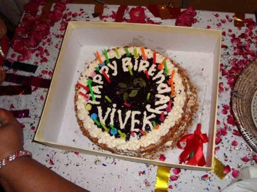 Торт который дети подарили Вивеку