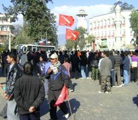 демонстрации студентов