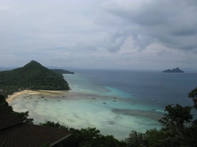 Северная оконечность острова Ко ПиПи