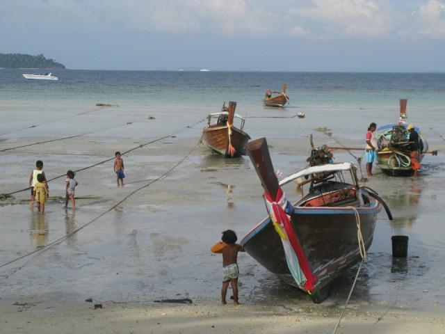 Дети рыбаков