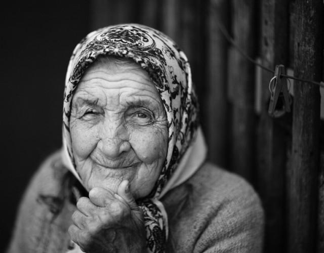 В 90 лет. (Ма. Gu.)
