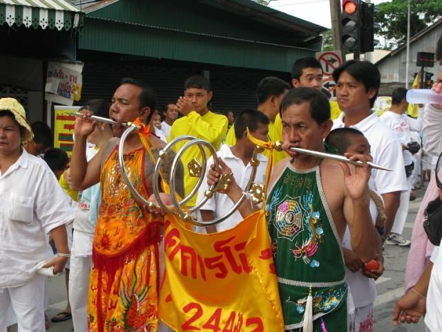 Вегетарианский фестиваль на Пхукете, Таиланд 13