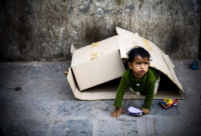 """Непал. Катманду. Из серии: """"Жизнь  города."""" """"Дом, который я построил."""" 2009 г."""
