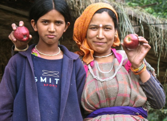 гипнотизируют яблоками
