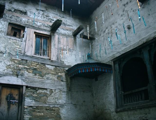 В храме Кришны