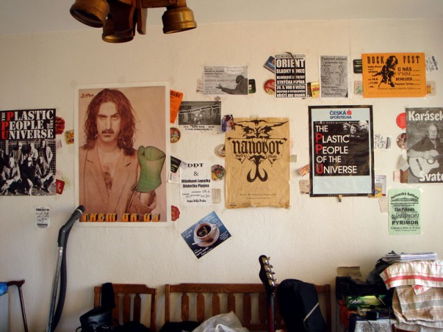 а вот тут я жила (квартира моего друга - бас-гитариста)