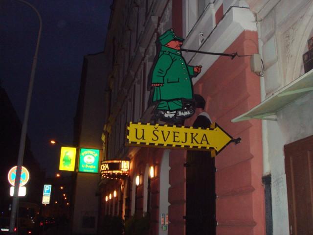 какая же Чехия без Швейка?...