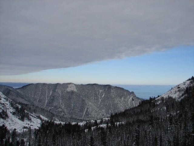Байкал - вид с хребта Хамар-Дабан