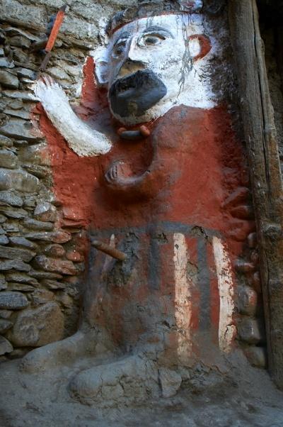 Хранитель города с торчащим пенисом - традиция Бонпо