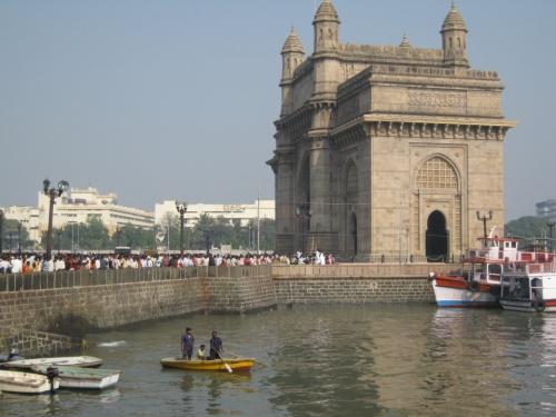 India Gate в воскресенье.