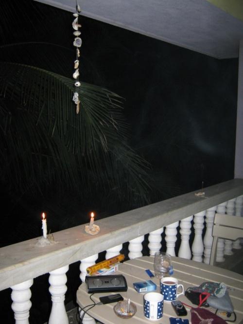 вечер на балконе