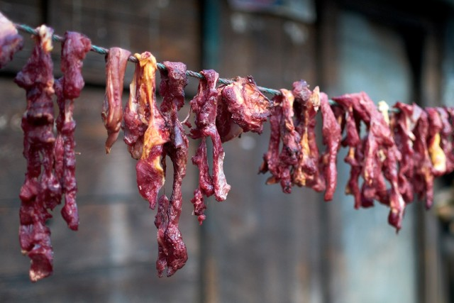 Мясо живет, пока бежит