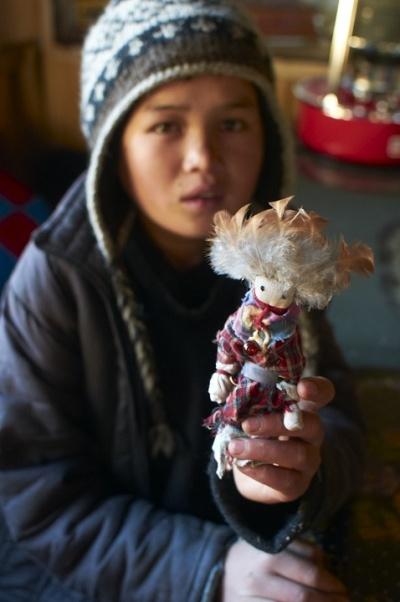 Кукла, которую смастерил Дэн