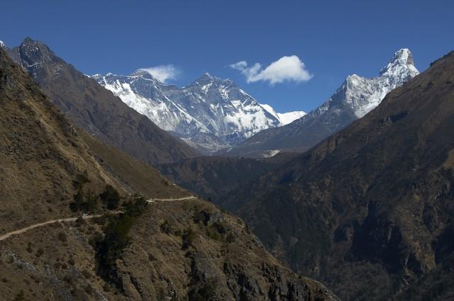 Эверест, Лхотце и Ама Даблам