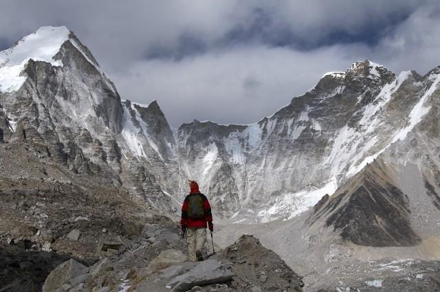 По пути в Базовый Лагень Эвереста