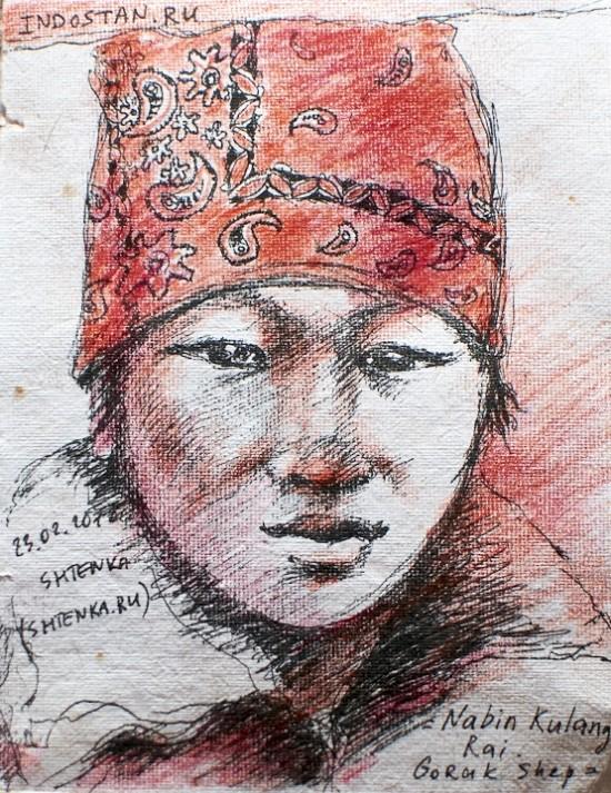 Портрет шерпы 1