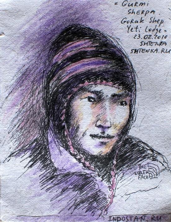 Портрет шерпы 2
