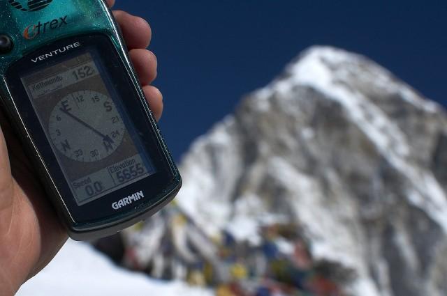 5655 метров над уровнем моря