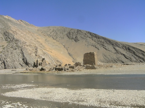 Разрушеный монастырь.