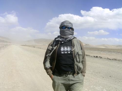 Типа бербер в пустыне