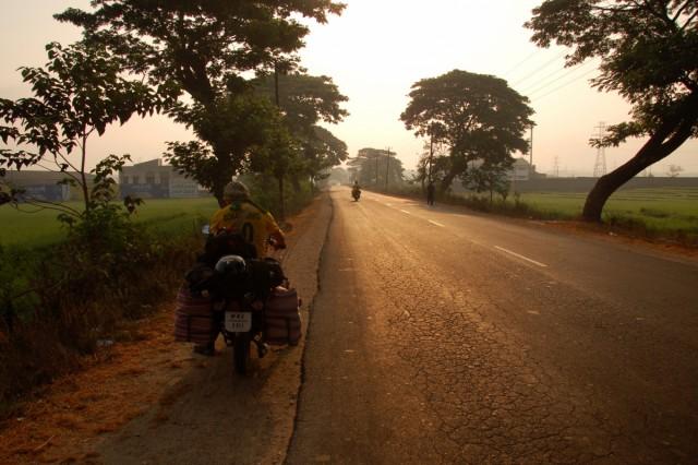 По дороге Шимога - Шраванабелагола