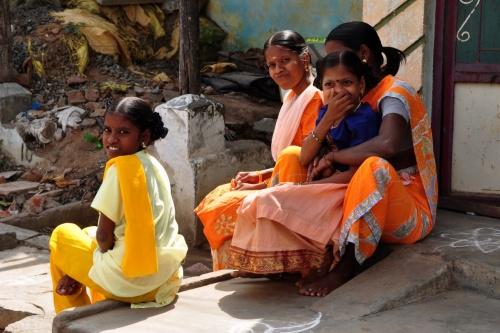 Тируваннамалаи. Жительницы города