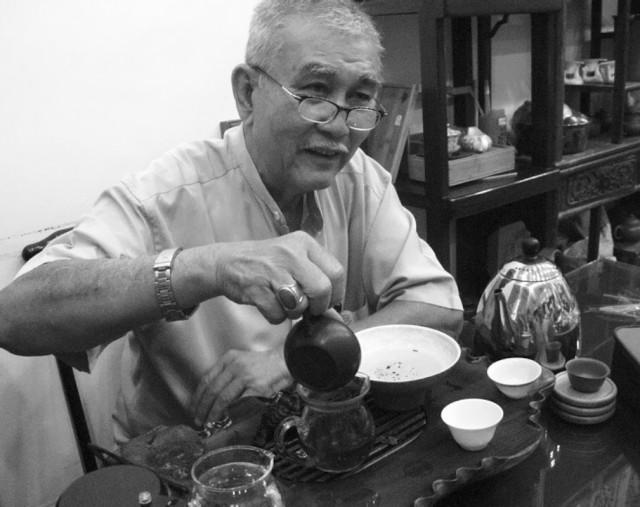 Мастер. (Чайная лавка в Куала Лумпуре, Малайзия)